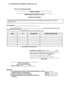 PRC Form 104