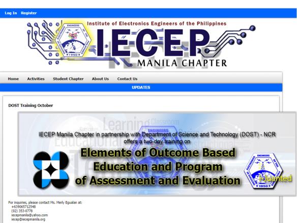 IECEP Manila Seminar 3