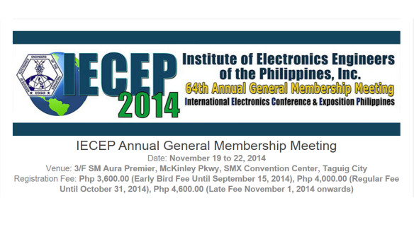 IECEP 2014 Banner