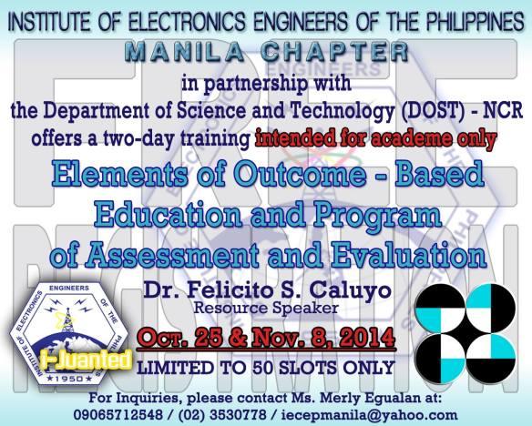 IECEP Manila Seminar for OBE