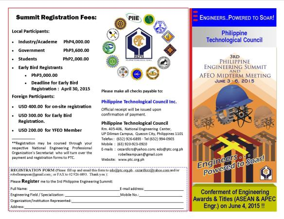 EnggSum2015 Master P Registration Form April 2015