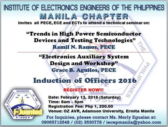 IECEP Manila February 2016