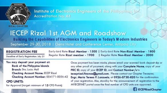 IECEP Rizal Roadshow