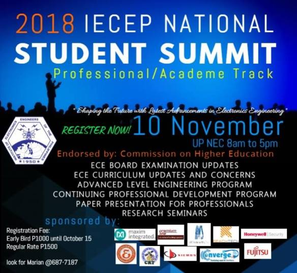 IECEP Professional Track